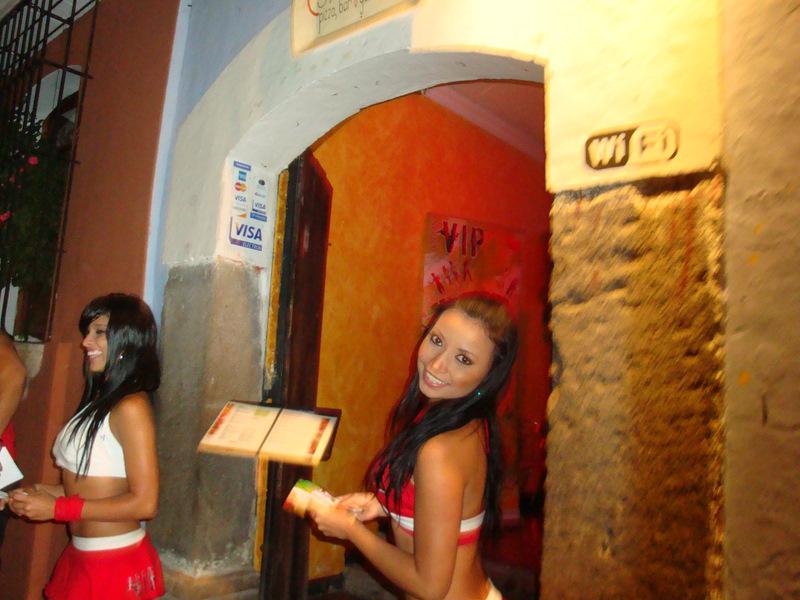 Teen girls Antigua Guatemala